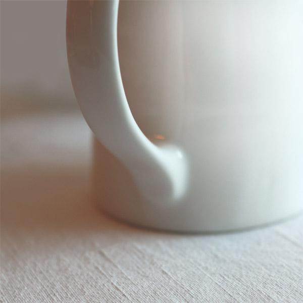 Pichet blanc