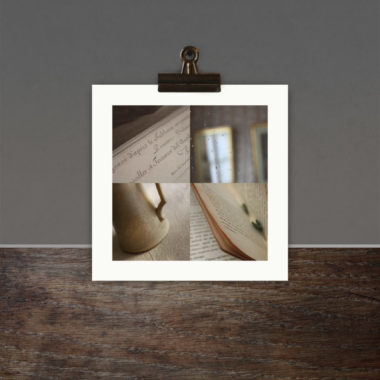 Reflet de miroir et pages