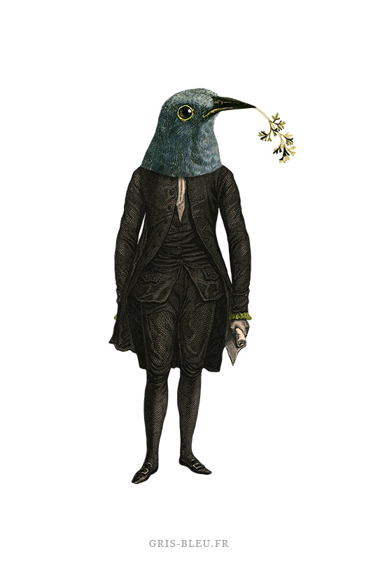 Le masque de plumes