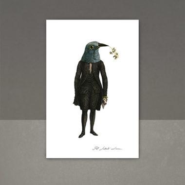 Masque de plumes