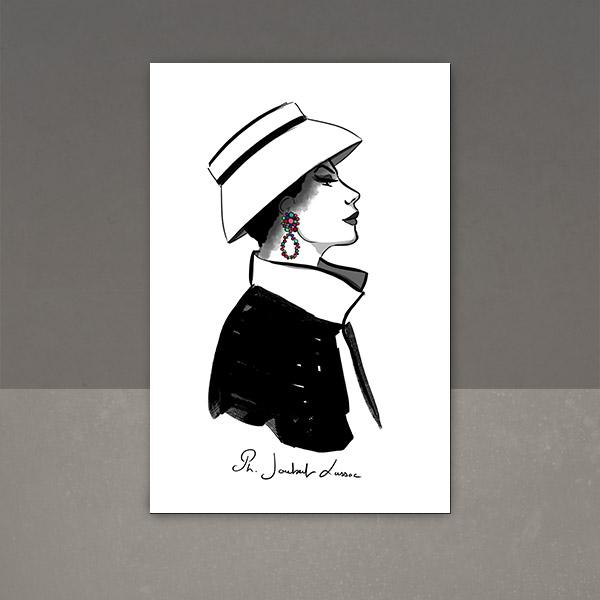 dessin années 50